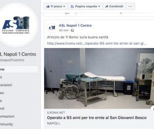 Dalla pagina Ufficiale della Asl Napoli 1 Centro